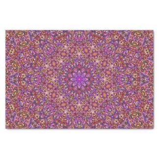 Tile Style Pattern Tissue Paper, White Tissue Paper
