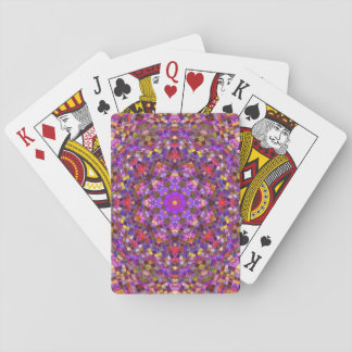 Tile Style Playing Cards, Standard Index faces Poker Deck