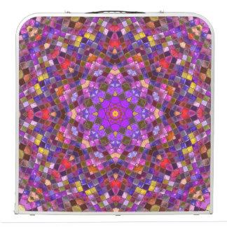 "Tile Style  Vintage Kaleidoscope  48""  Pong Table"