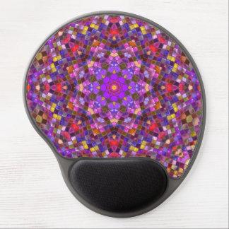 Tile Style Vintage Kaleidoscope Gel Mousepad Gel Mouse Mat