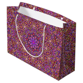 Tile Style Vintage Kaleidoscope    Gift Bags
