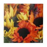 Tile, Sunflowers # 1
