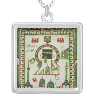 Tile with a representation of Mecca Custom Jewelry
