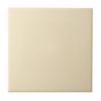 Tile with Cream Ecru Beige Background