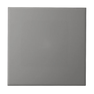 Tile with Medium Gray Background
