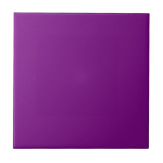 Tile with Medium Purple Background