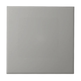Tile with Pastel Gray Background