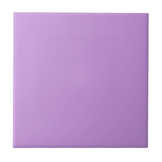 Tile with Pastel Lavender Background
