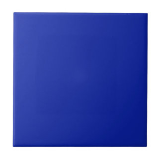 Tile with Royal Blue Background