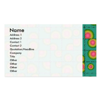 Tiled circular gradients pack of standard business cards