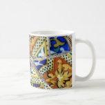 Tiled coffee cup coffee mugs