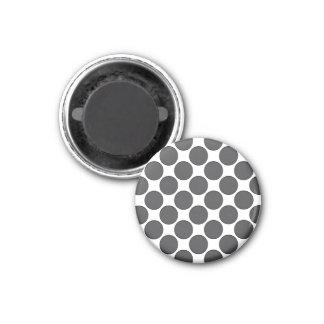 Tiled DarkGrey Dots Magnet