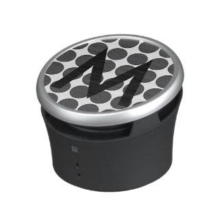 Tiled DarkGrey Dots Speaker