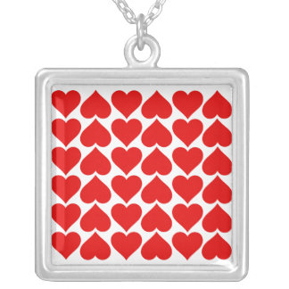 Tiled Hearts Necklace