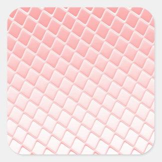 Tiled.jpg Square Sticker