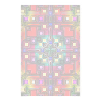 Tiled Modern Decorative Abstract Stationery Paper