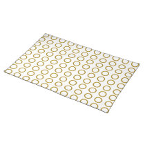 Tiled Port Holes Cloth Table Placemat