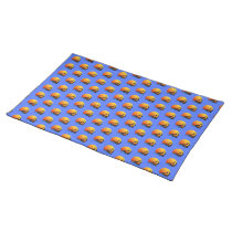 Tiled Sailing Yacht at Sunset Cloth Table Placemat
