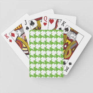 Tiled Shamrock Playing Cards