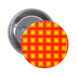 Tiled Tile Reflective Pattern Design 6 Cm Round Badge