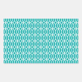 tiles Beautiful fine style fame fashion love moder Rectangular Sticker