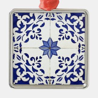 Tiles Christmas Ornament