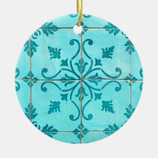Tiles Christmas Ornament