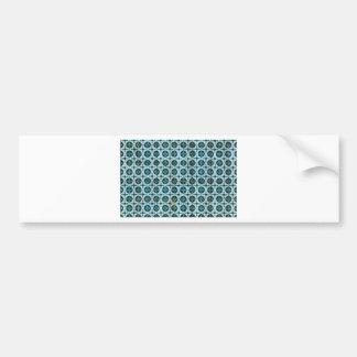 Tiles, Portuguese Tiles Bumper Sticker