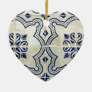 Tiles, Portuguese Tiles Ceramic Heart Decoration
