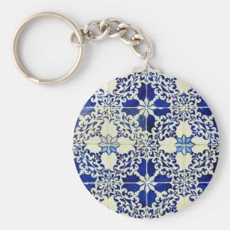 Tiles, Portuguese Tiles Key Ring
