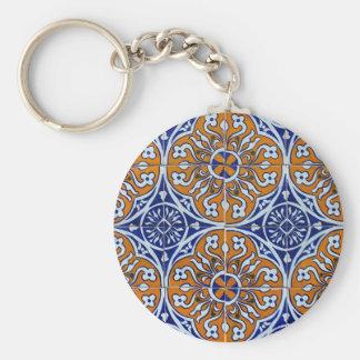 Tiles, Portuguese Tiles Key Chains