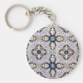 Tiles Portuguese Tiles Keychain