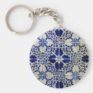 Tiles, Portuguese Tiles Keychains