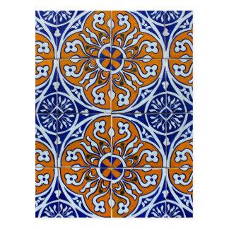 Tiles, Portuguese Tiles Postcard