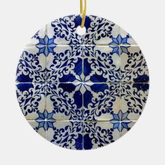 Tiles, Portuguese Tiles Round Ceramic Decoration