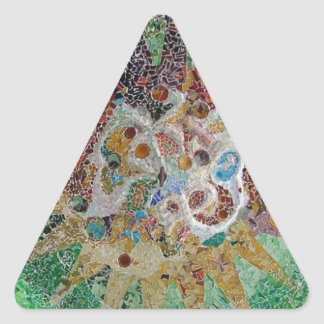 Tiles Triangle Sticker