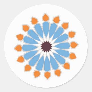 TileSticker Classic Round Sticker