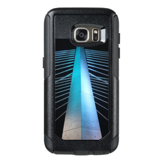 Tilikum Crossing pier at night OtterBox Samsung Galaxy S7 Case