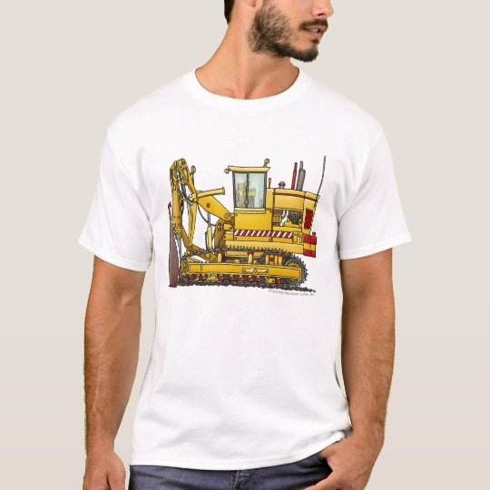 Tiling Machine Construction Apparel T-Shirt