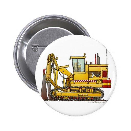 tiling machine construction pins zazzle. Black Bedroom Furniture Sets. Home Design Ideas