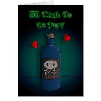 Till Death Do Us Part - Dark Derek Greeting Card