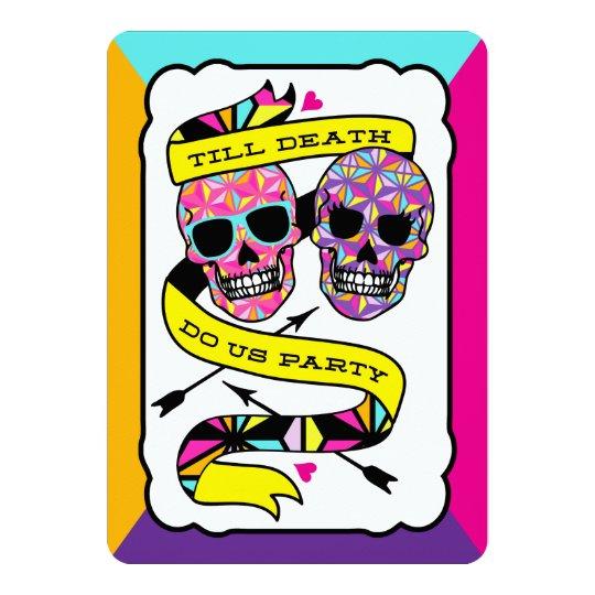 Till Death Do Us Party - Neon Wedding