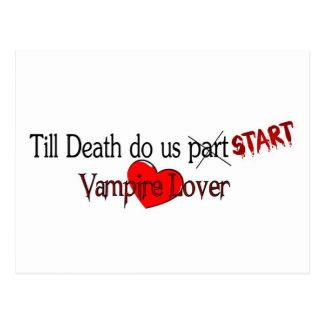 Till Death do us start Postcard
