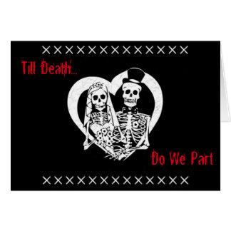 Till Death Do We Part Card