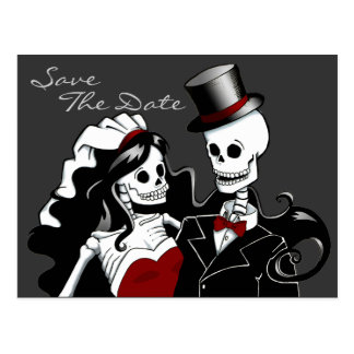 Till Death ~ Save the Date by ladyariel Postcard