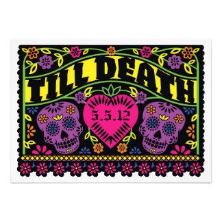 Till Death Sugar Skulls Banner Announcement
