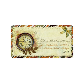 Till The End of Time Victorian BUSINESS OFFICE Address Label