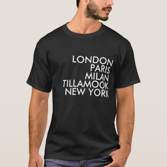 Tillamook Oregon Shirt
