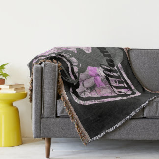 Tillamook, Oregon Throw Blanket