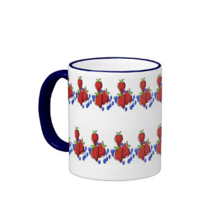 Tilled Berries Coffee Mugs